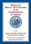 Burials of War of 1812: Veterans in the Commonwealth of Virginia
