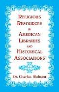 Religious Resources in American Libraries and Historical Associations