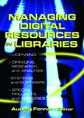 Managing Digital Resources in Libraries