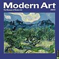 Modern Art Calendar