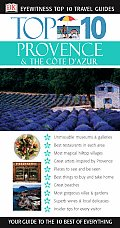Top 10 Provence & the Cote D'Azur (DK Eyewitness Top 10 Travel Guides) Cover