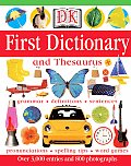 Dk First Dictionary and Thesaurus Cover