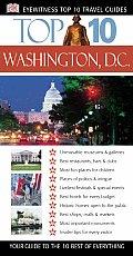 Top 10 Washington, D.C. (DK Eyewitness Top 10 Travel Guides)