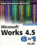 Microsoft Works 4.5 6-In-1