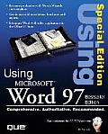 Special Edition Using Microsoft Word 97 with CDROM (Using ...)