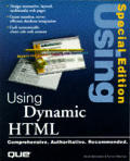 Special Edition Using Dynamic HTML