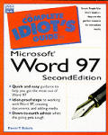 The Complete Idiot's Guide to Microsoft Word 97