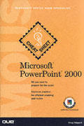 Microsoft PowerPoint 2000 Microsoft Office User Specialists Cheat Sheet with CDROM (Cheat Sheet)