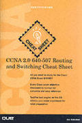 CCNA 2.0 640-507 Routing and Switching Cheat Sheet