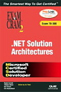 MCSD .Net Solution Architectures: Exam 70-300 [With CDROM]