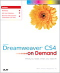 Adobe Dreamweaver CS4 on Demand (On Demand)