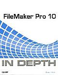 FileMaker Pro 10 in Depth (In Depth) Cover