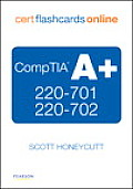 Comptia A+ 220-701 and 220-702 Cert Flash Cards Online, Retail Package Version (Cert Flash Cards Online) Cover