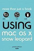 Using Mac OS X Snow Leopard (Using) Cover