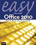 Easy Microsoft Office 2010 (Easy ...) Cover