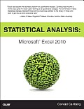 Statistical Analysis: Microsoft Excel 2010 (MrExcel Library) Cover