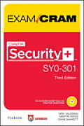Comptia Security+ Sy0-301 Authorized Exam Cram (Exam Cram) Cover