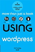 Using Wordpress, with DVD (Using) Cover