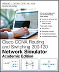 CCNA Routing and Switching 200-120 Network Simulator, Academic Edition, Student Version (Network Simulator)