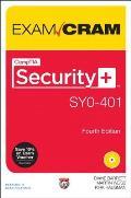 Comptia Security+ Sy0-401 Exam Cram (Exam Cram)