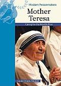 Mother Teresa: Caring for the World's Poor (Modern Peacemakers) Cover
