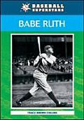 Babe Ruth (Baseball Superstars) Cover