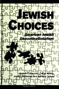 Jewish Choices: American Jewish Denominationalism (Suny Series, American Jewish Society in the 1990s) Cover