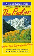 National Geographic Driving Guide To Rockies States