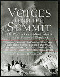 Voices From the Summit the Worlds Great