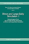 Direct and Large-Eddy Simulation I
