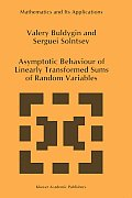 Asymptotic Behaviour of Linearly Transformed Sums of Random Variables