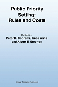 Public Priority Setting: Rules and Costs