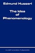 The Idea of Phenomenology