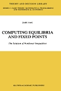 Computing Equilibria and Fixed Points