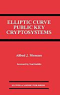 Elliptic Curve Public Key Cryptosystems