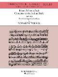 Concerto in the Italian Style (Urtext Edition): Harpsichord or Piano Solo
