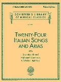 Twenty-Four Italian Songs and Arias of the Seventeenth and Eighteenth Centuries (Book Only)