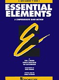 Essential Elements: E Flat Alto Clarinet, Bk. 1