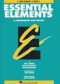 Essential Elements: E-Flat Alto Clarinet, Book 2: A Comprehensive Band Method