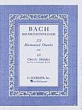 371 Harmonized Chorales & 69 Chorale Melodies with Figured Bass