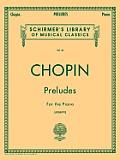 Preludes (Joseffy): Piano Solo