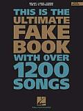 Ultimate Fake Book With Over 1200 3RD Edition Cover