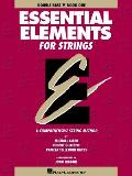 Essential Elements for Strings - Book 1 (Original Series): Double Bass