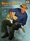 Basic Blues for Guitar: Book/CD Pack