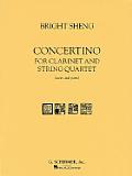 Concertino: For Clarinet and String Quartet