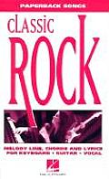 Classic Rock (Paperback Songs)
