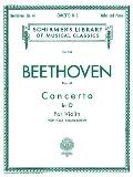 Concerto in D Major, Op. 61: Score and Parts