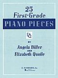 25 First Grade Piano Pieces: Easy Piano Solo
