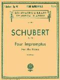 4 Impromptus, Op. 90: Piano Solo