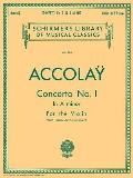 Accolay Concerto No 1 in A Minor For the Violin with Piano Accompainment